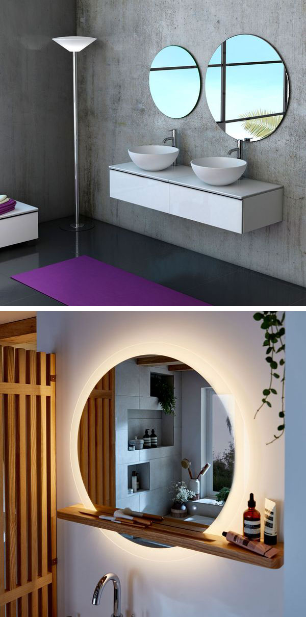 Espejos de baño en Bricodepot