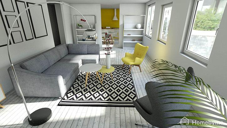 HomeByMe programa de diseño de interiores online