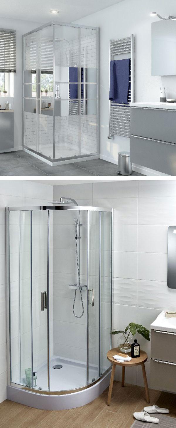 Mamparas de ducha Bricodepot