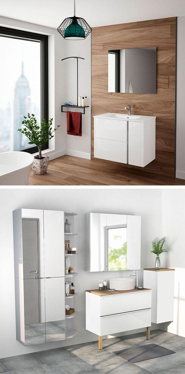 Muebles del cuarto de baño en Bricodepot
