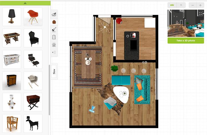 Roomstyler programa de decoración de interiores fácil y gratis