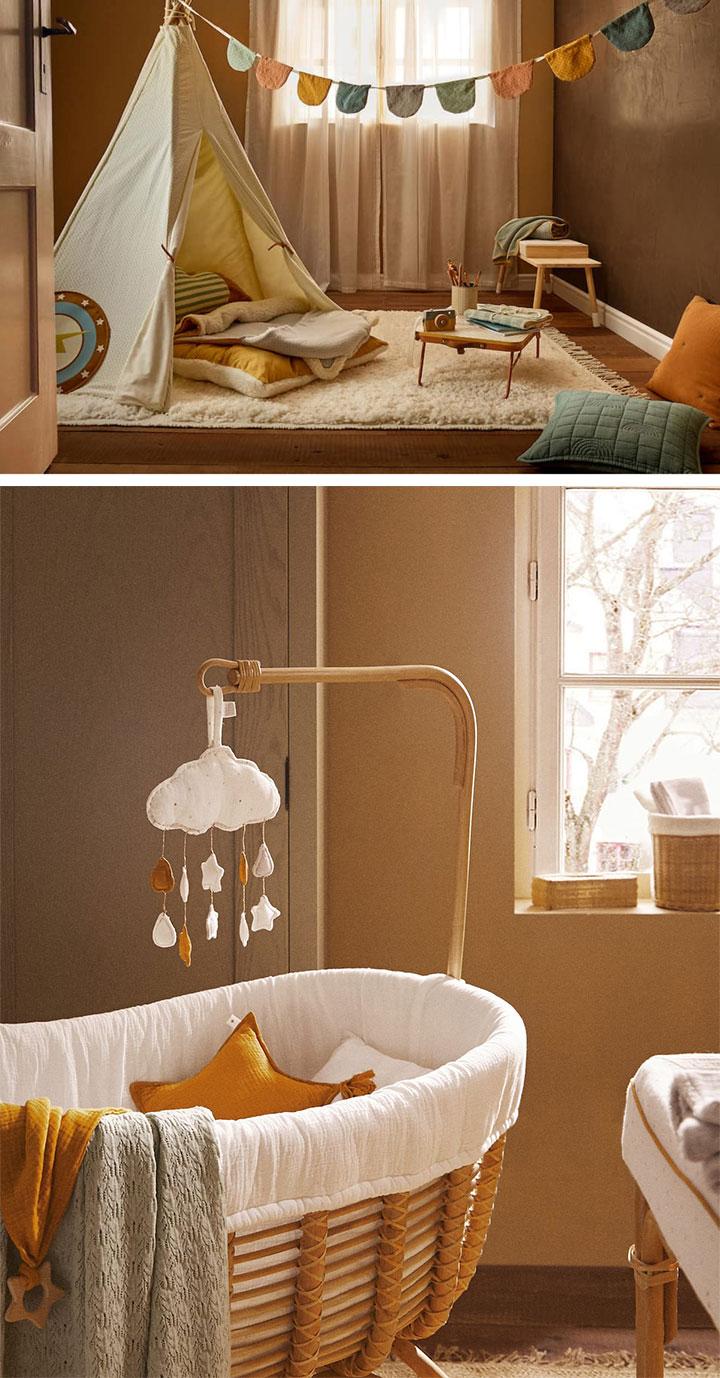 Catálogo Zara Home para bebés