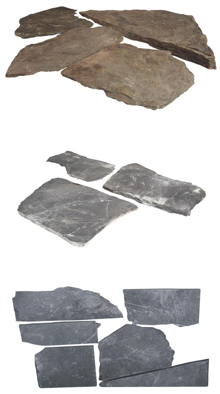 Planchones de pizarra Bricodepot Jardín Catálogo