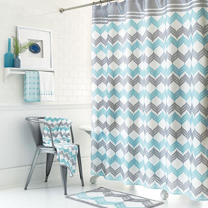 Diseños y estilos de cortinas de ducha y bañera