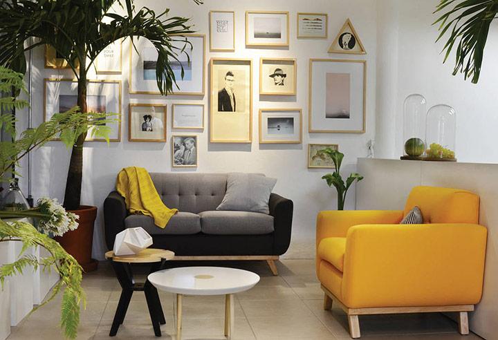 Tipos de sofá para cada estilo de salón
