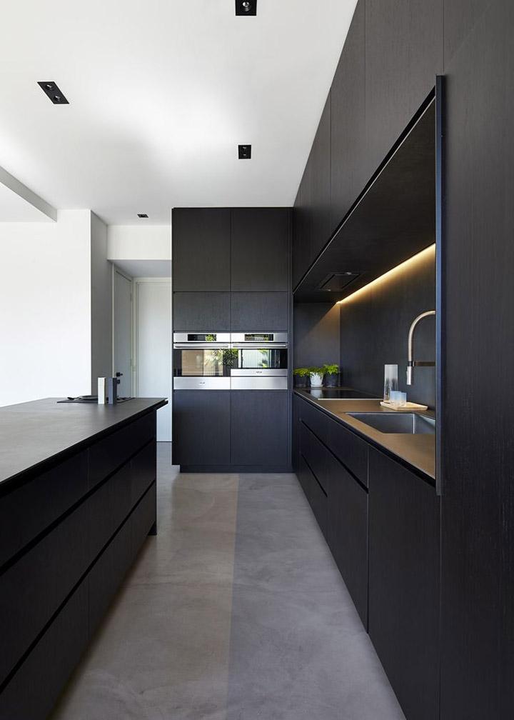 Cocinas de diseño rectangulares