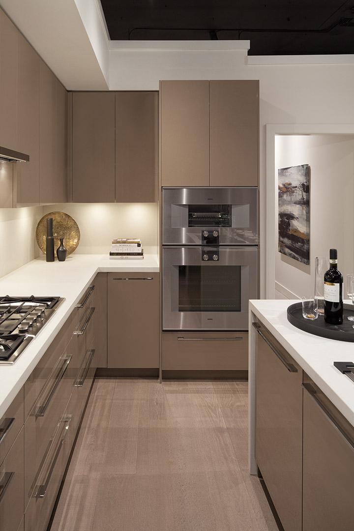 Cocinas modernas alargadas fotos