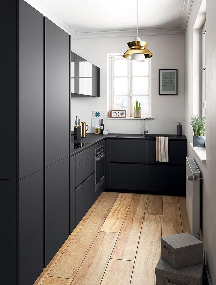 Fotos de cocinas modernas alargadas