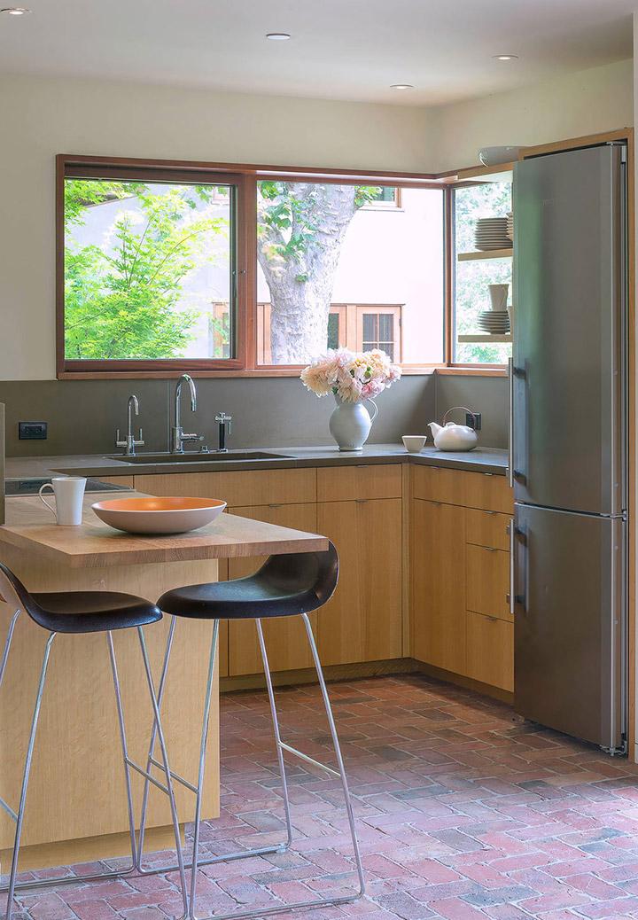 Cocinas de diseño pequeñas rústicas